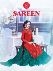 RSF SAREEN FESTIVAL SPECIAL DRESS WHOLESALE BEST RATE BY GOSIYA EXPORT SURAT (11)