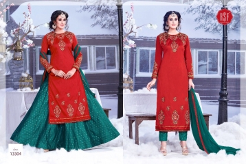 RSF SAREEN FESTIVAL SPECIAL DRESS WHOLESALE BEST RATE BY GOSIYA EXPORT SURAT (2)