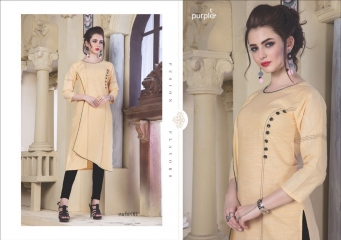 RUCHI KURTIS BY PURPLE DESIGNER COTTON SLUB KURTIS ARE AVAILABLE AT WHOLESALE RATE BY GOSIYA EXPORTS (11)