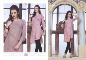 RUCHI KURTIS BY PURPLE DESIGNER COTTON SLUB KURTIS ARE AVAILABLE AT WHOLESALE RATE BY GOSIYA EXPORTS (12)