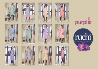 RUCHI KURTIS BY PURPLE DESIGNER COTTON SLUB KURTIS ARE AVAILABLE AT WHOLESALE RATE BY GOSIYA EXPORTS (13)