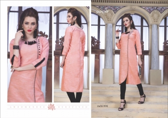 RUCHI KURTIS BY PURPLE DESIGNER COTTON SLUB KURTIS ARE AVAILABLE AT WHOLESALE RATE BY GOSIYA EXPORTS (4)