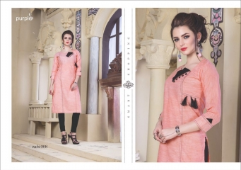 RUCHI KURTIS BY PURPLE DESIGNER COTTON SLUB KURTIS ARE AVAILABLE AT WHOLESALE RATE BY GOSIYA EXPORTS (8)