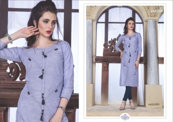 RUCHI KURTIS BY PURPLE DESIGNER COTTON SLUB KURTIS ARE AVAILABLE AT WHOLESALE RATE BY GOSIYA EXPORTS (9)