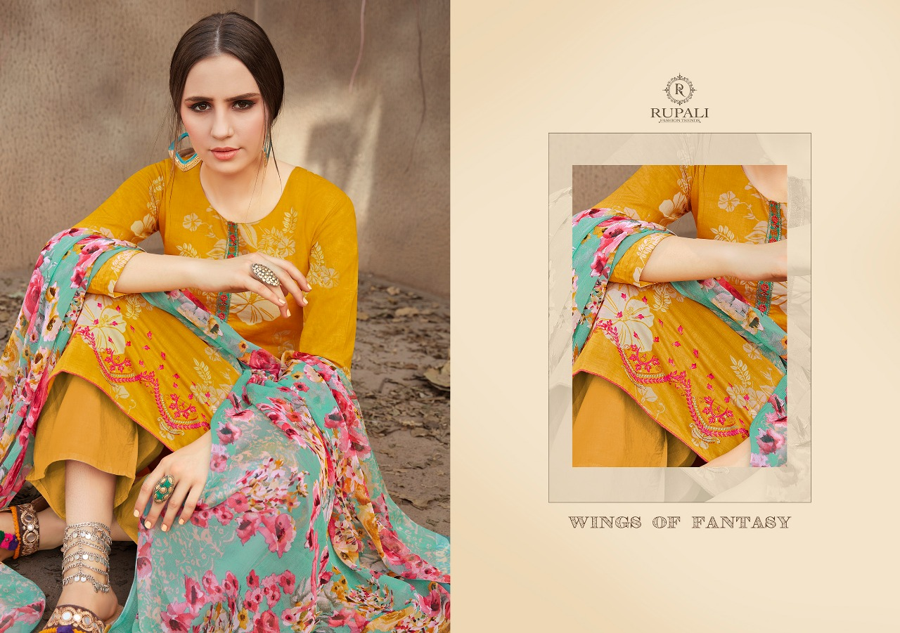RUPALI BLOSSOM VOL 1 PURE DUPATTA SUITS WHOLESALE RATE AT GOSIYA EXPORTS SURAT (5)