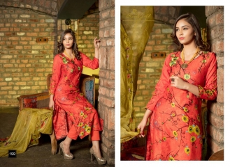 RVEE GOLD MAHREEN VOL 3 SUMMER COLLECTION SUITS CATALOG WHOLESALE BEST RATE (8)