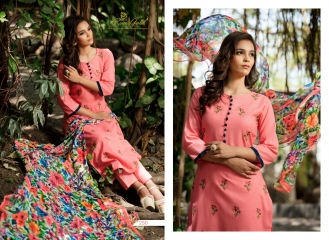 Rvee gold the roses cotton salwar kameez collection BY GOSIYAB EXPORTS SURAT (1)