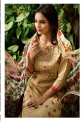 Rvee gold the roses cotton salwar kameez collection BY GOSIYAB EXPORTS SURAT (11)