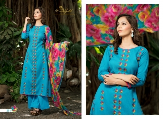 Rvee gold the roses cotton salwar kameez collection BY GOSIYAB EXPORTS SURAT (2)