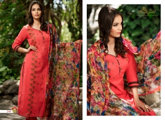 Rvee gold the roses cotton salwar kameez collection BY GOSIYAB EXPORTS SURAT (6)
