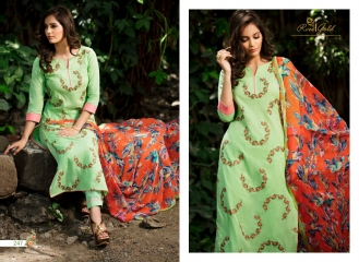 Rvee gold the roses cotton salwar kameez collection BY GOSIYAB EXPORTS SURAT (8)