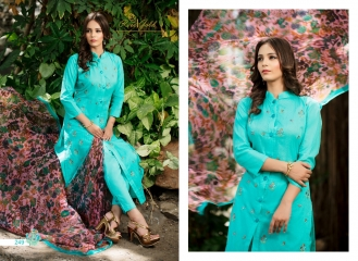 Rvee gold the roses cotton salwar kameez collection BY GOSIYAB EXPORTS SURAT (9)