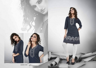 S MORE DZIRE DENIM KURTI WHOLESALER BEST RATE BY GOSIYA EXPORTS SURAT ONLINE (5)