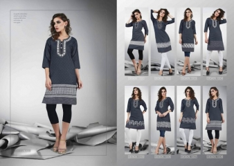 S MORE DZIRE DENIM KURTI WHOLESALER BEST RATE BY GOSIYA EXPORTS SURAT ONLINE (8)