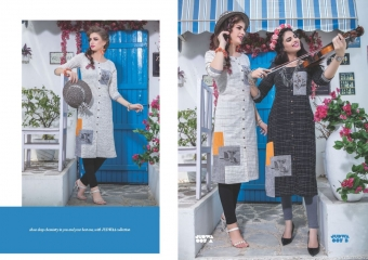 S4U BY SHIVALI JUDWA CATALOGUE REYON KURTI WHOLESALE BEST RATE COLLECTION BY GOSIYA EXPORTS SURAT (7)