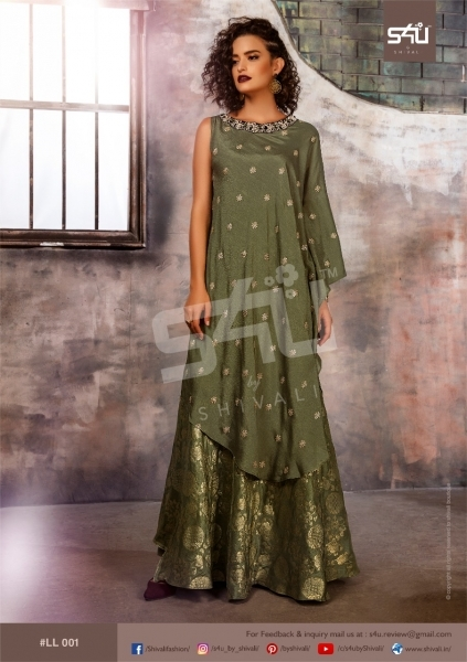 S4U BY SHIVALI LIMELIGHT STYLISH WEAR  (1)