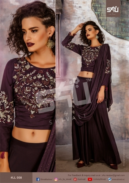 S4U BY SHIVALI LIMELIGHT STYLISH WEAR  (10)