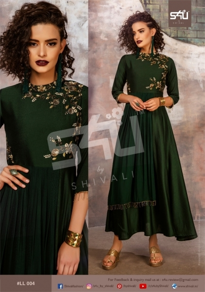 S4U BY SHIVALI LIMELIGHT STYLISH WEAR  (2)