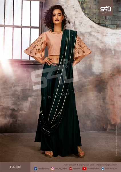 S4U BY SHIVALI LIMELIGHT STYLISH WEAR  (3)