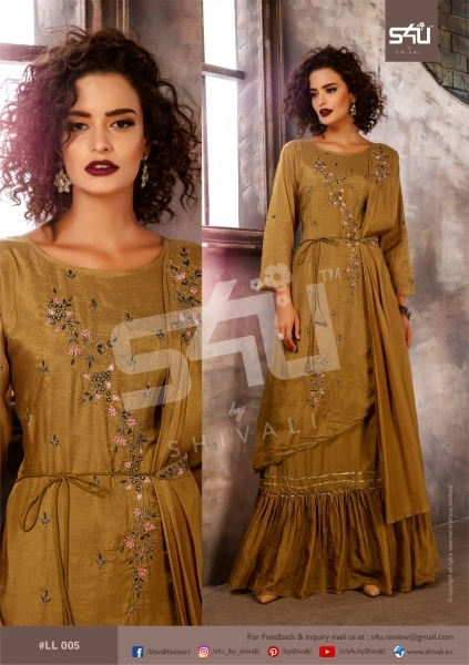 S4U BY SHIVALI LIMELIGHT STYLISH WEAR  (4)