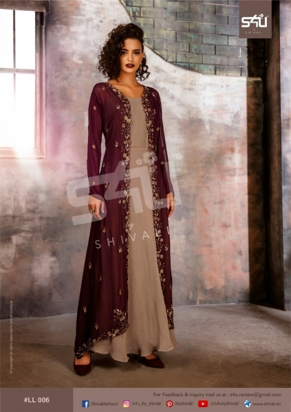 S4U BY SHIVALI LIMELIGHT STYLISH WEAR  (6)