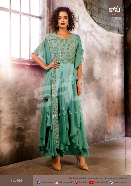 S4U BY SHIVALI LIMELIGHT STYLISH WEAR  (7)