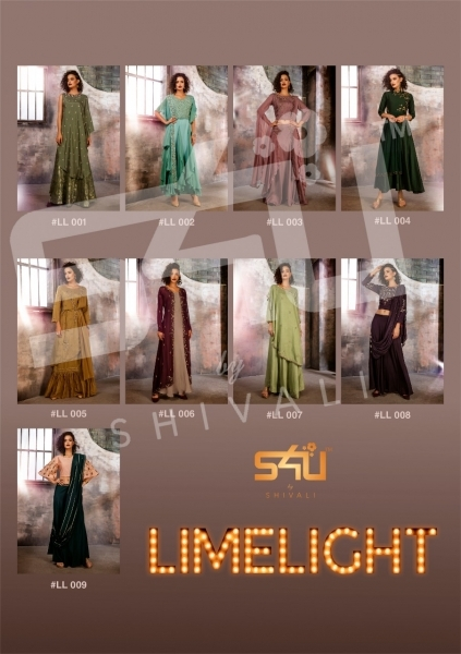 S4U BY SHIVALI LIMELIGHT STYLISH WEAR  (8)