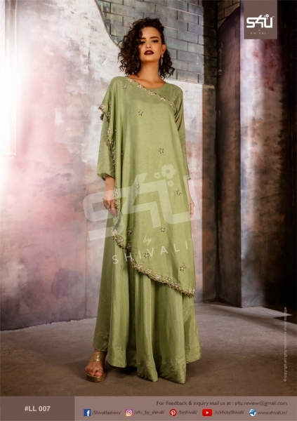 S4U BY SHIVALI LIMELIGHT STYLISH WEAR  (9)