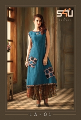 S4u by shivali premium collection la – exotic vol 2 kurties collection WHOLESALE BEST RATE BY GOSIYA EXPORTS SURAT (2)
