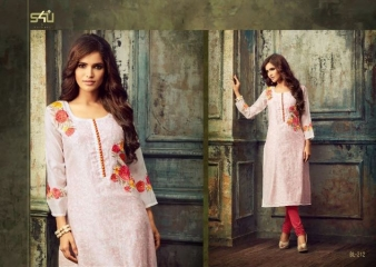 S4U SHIVALI BY BLOSSOM VOL 2 PARTY WEAR KURTI COLLECTION WHOLESALE BEST RATE BY GOSIYA EXPORTS SURAT (16)