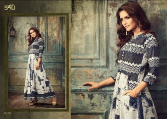 S4U SHIVALI BY BLOSSOM VOL 2 PARTY WEAR KURTI COLLECTION WHOLESALE BEST RATE BY GOSIYA EXPORTS SURAT (18)