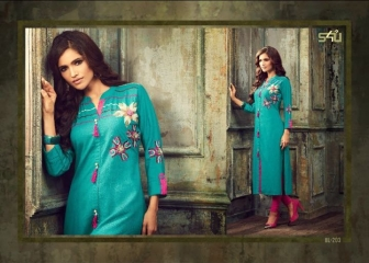 S4U SHIVALI BY BLOSSOM VOL 2 PARTY WEAR KURTI COLLECTION WHOLESALE BEST RATE BY GOSIYA EXPORTS SURAT (19)