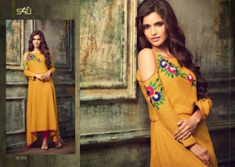 S4U SHIVALI BY BLOSSOM VOL 2 PARTY WEAR KURTI COLLECTION WHOLESALE BEST RATE BY GOSIYA EXPORTS SURAT (23)
