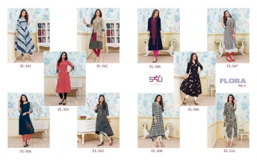 S4U SHIVALI BY FLORA VOL 5 DESIGNER WEAR KURTI COLLECTION WHOLESALE BEST RATE BY GOSIYA EXPORTS SURAT (11)