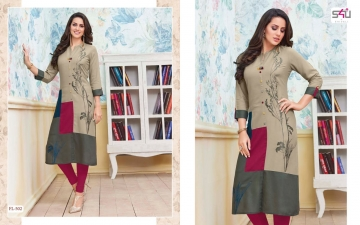 S4U SHIVALI BY FLORA VOL 5 DESIGNER WEAR KURTI COLLECTION WHOLESALE BEST RATE BY GOSIYA EXPORTS SURAT (2)