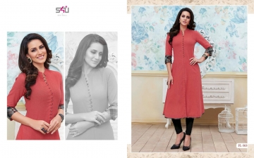 S4U SHIVALI BY FLORA VOL 5 DESIGNER WEAR KURTI COLLECTION WHOLESALE BEST RATE BY GOSIYA EXPORTS SURAT (3)