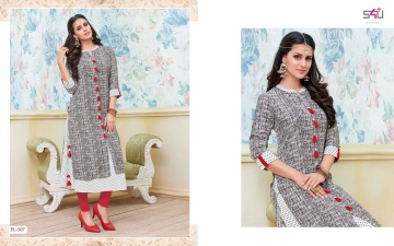 S4U SHIVALI BY FLORA VOL 5 DESIGNER WEAR KURTI COLLECTION WHOLESALE BEST RATE BY GOSIYA EXPORTS SURAT (7)