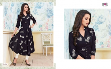 S4U SHIVALI BY FLORA VOL 5 DESIGNER WEAR KURTI COLLECTION WHOLESALE BEST RATE BY GOSIYA EXPORTS SURAT (8)