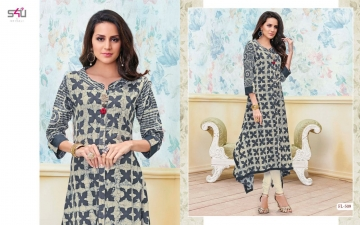 S4U SHIVALI BY FLORA VOL 5 DESIGNER WEAR KURTI COLLECTION WHOLESALE BEST RATE BY GOSIYA EXPORTS SURAT (9)