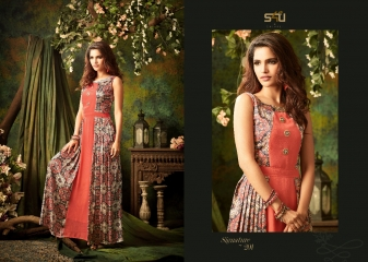 S4U SHIVALI BY SIGNATURE VOL 2 HEAVY GEORGETTE DESIGNER KURTI COLLECTION WHOLESALE BEST RATE BY GOSIYA EXPORTS SURAT (1)