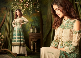 S4U SHIVALI BY SIGNATURE VOL 2 HEAVY GEORGETTE DESIGNER KURTI COLLECTION WHOLESALE BEST RATE BY GOSIYA EXPORTS SURAT (2)