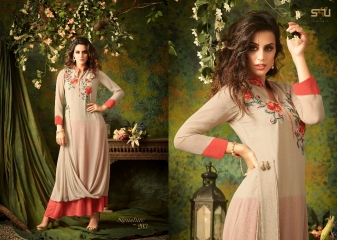 S4U SHIVALI BY SIGNATURE VOL 2 HEAVY GEORGETTE DESIGNER KURTI COLLECTION WHOLESALE BEST RATE BY GOSIYA EXPORTS SURAT (3)