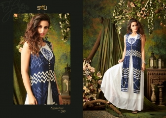 S4U SHIVALI BY SIGNATURE VOL 2 HEAVY GEORGETTE DESIGNER KURTI COLLECTION WHOLESALE BEST RATE BY GOSIYA EXPORTS SURAT (6)