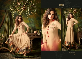 S4U SHIVALI BY SIGNATURE VOL 2 HEAVY GEORGETTE DESIGNER KURTI COLLECTION WHOLESALE BEST RATE BY GOSIYA EXPORTS SURAT (7)