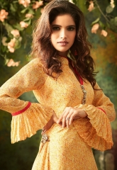 S4U SHIVALI BY SIGNATURE VOL 2 HEAVY GEORGETTE DESIGNER KURTI COLLECTION WHOLESALE BEST RATE BY GOSIYA EXPORTS SURAT