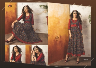 S4U SHIVALI COLLECTION BY TRIBAL VOL 4 CATALOG RAYON PRINTS KURTI COLLECTION WHOLESALE BEST RATE BY GOSIYA EXPORTS SUR (514)