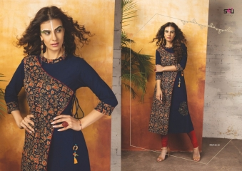 S4U SHIVALI COLLECTION BY TRIBAL VOL 4 CATALOG RAYON PRINTS KURTI COLLECTION WHOLESALE BEST RATE BY GOSIYA EXPORTS SUR (517)