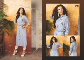 S4U SHIVALI COLLECTION BY TRIBAL VOL 4 CATALOG RAYON PRINTS KURTI COLLECTION WHOLESALE BEST RATE BY GOSIYA EXPORTS SUR (522)