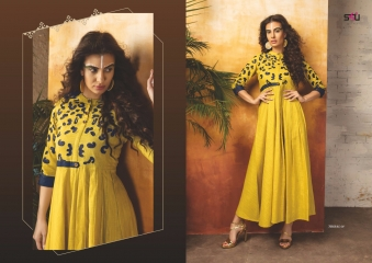 S4U SHIVALI COLLECTION BY TRIBAL VOL 4 CATALOG RAYON PRINTS KURTI COLLECTION WHOLESALE BEST RATE BY GOSIYA EXPORTS SURAT (1)