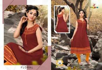 SAAVYA Cotton Heavy Lon KURTIS FANCY KESROM WHOLESALE BEST RATE BY GOSIYA EXPORTS (13)